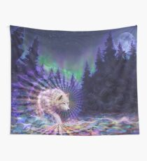 Spirit Wolf Wall Tapestry