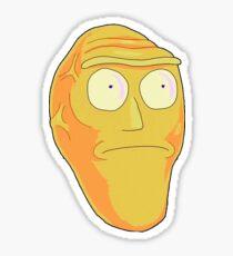Orange Cromulon Sticker