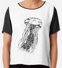 jellyfish Chiffon Top