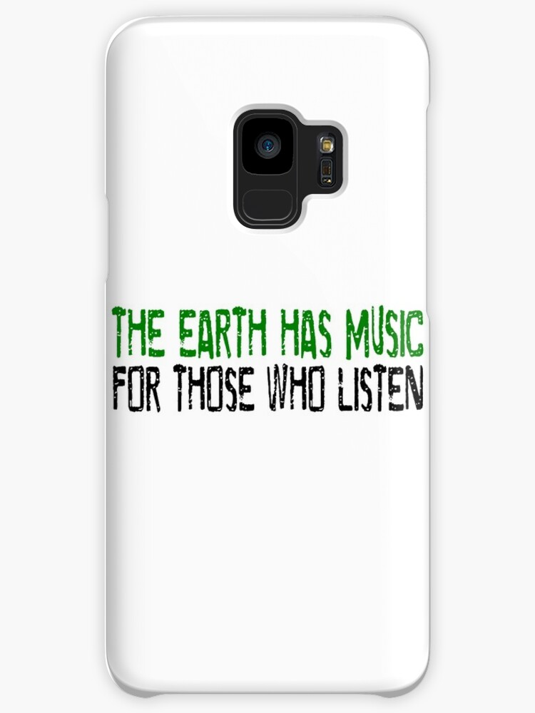 Earth Music Beautiful Inspirational Quotes Nature Hippie Cases