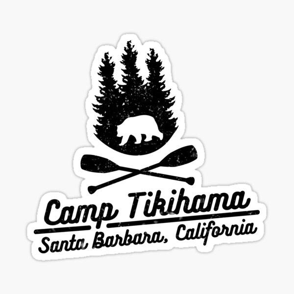 Camp Tikihama  Sticker