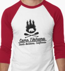 Camiseta ¾ bicolor para hombre Campamento Tikihama