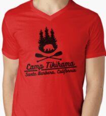 Camp Tikihama  Men's V-Neck T-Shirt