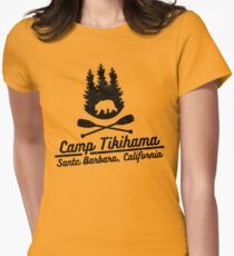 Camp Tikihama  Women's Fitted T-Shirt