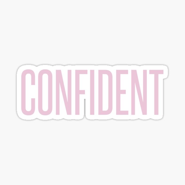 confident Sticker