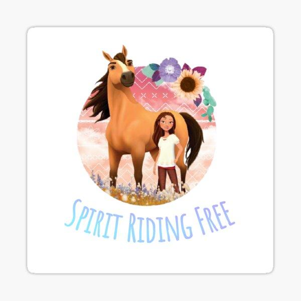Spirit Riding Free Sticker