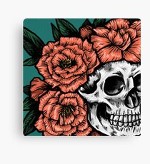Crown of Peonies Canvas Print