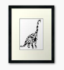 Sauropod 2 Framed Print