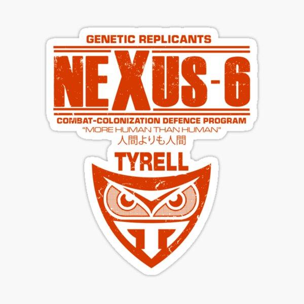 Nexus 6 - Blade Runner - Tyrell - Replicant Essential T-Shirt Sticker