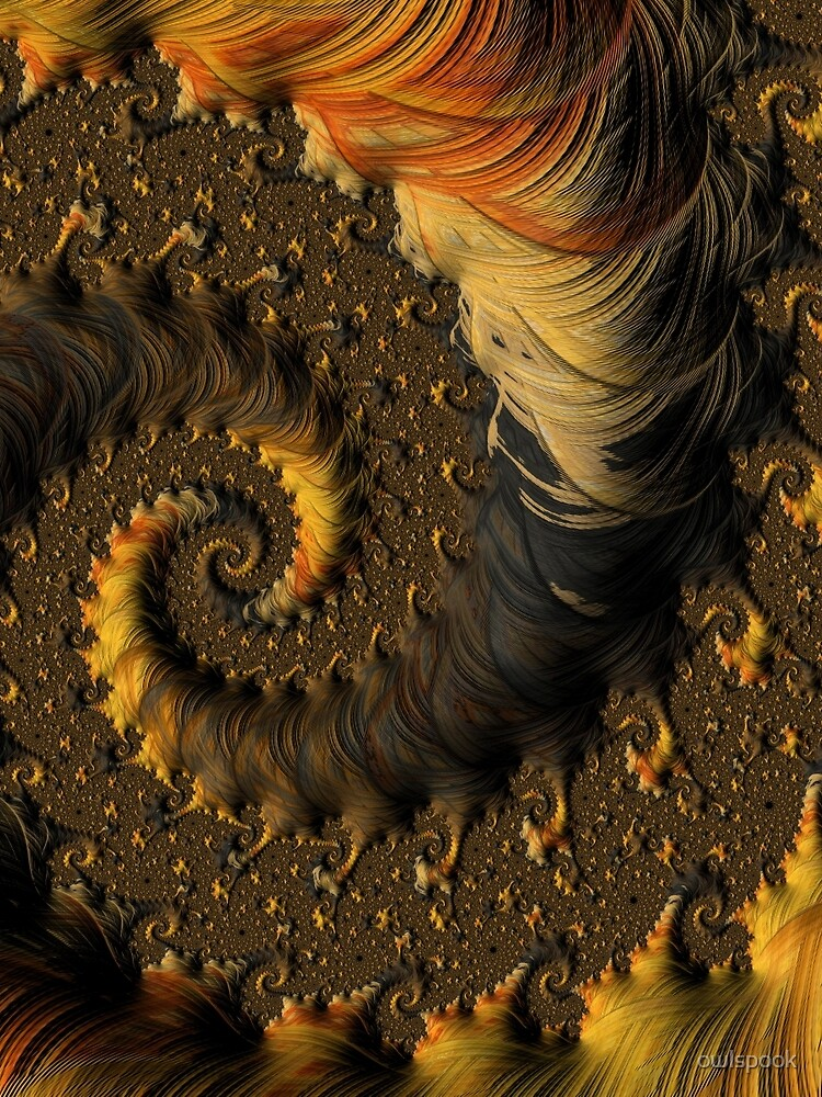 Feathered Fractals by owlspook