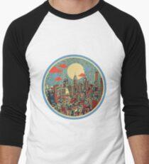 philadelphia panorama 3 Men's Baseball ¾ T-Shirt