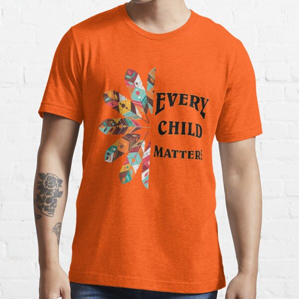 National Day For Truth And Reconciliation Orange Shirt Day, Every Child Matters Canada Essential T-Shirt