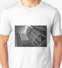 The Vancouver Public Library- Black and White  T-Shirt