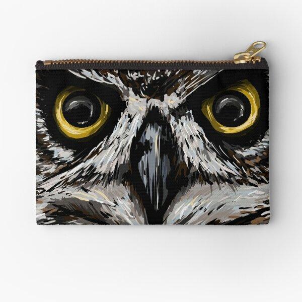 Owl Eyes Zipper Pouch