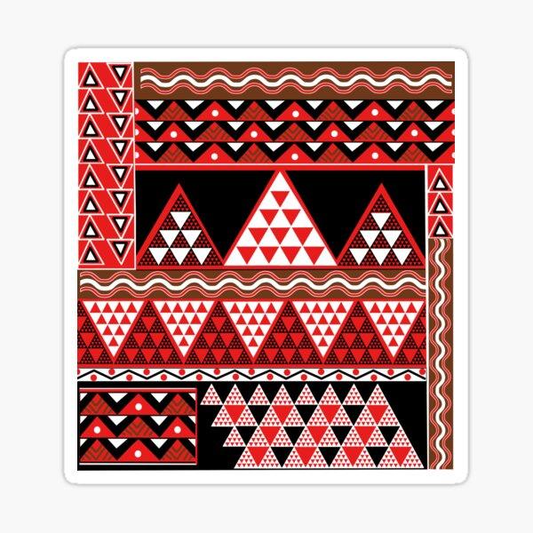 Mauna Kea Triangles Sticker