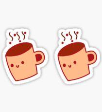 Happy Java Mug Sticker
