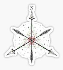 Kompass Sticker