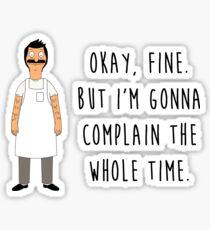 Bob Belcher - Bobs Burgers Sticker