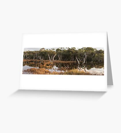 Lake Coogee Wetland Greeting Card