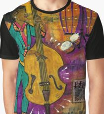 That Sistah on the Bass Graphic T-Shirt