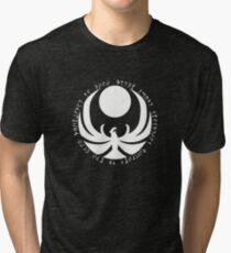 The Nightingales Symbol - Daedric writings Tri-blend T-Shirt