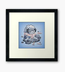The Sick Day Framed Print