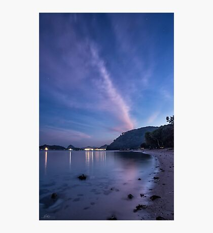 Pede Beach Dawn Photographic Print