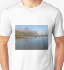 Mountains reflecting in tidal pool T-Shirt