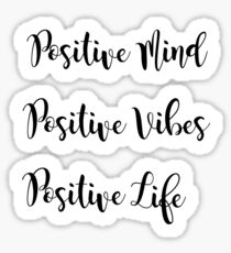 Positive Sticker