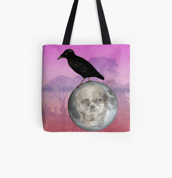 'Sit on my finger, sing in my ear, O littleblood.' All Over Print Tote Bag