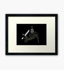 Jon Snow - Caleb Carter Framed Print