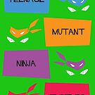 TMNT by jrwcole