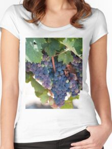 Grapes on the Vine II Women's Fitted Scoop T-Shirt