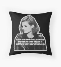 STANA KATIC, QUOTE Throw Pillow