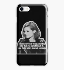 STANA KATIC, QUOTE iPhone Case/Skin