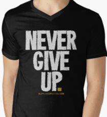 Never Give Up T-shirts & Homewares Men's V-Neck T-Shirt