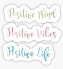 Positive Colores Sticker