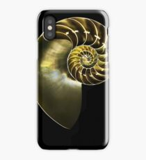 pearly nautilus iPhone Case/Skin