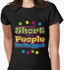 People McNugget Women's Fitted T-Shirt