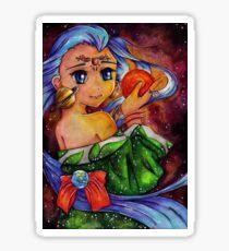 Solar Girl Sticker