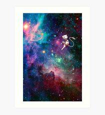 Lámina artística Mew- Galaxy