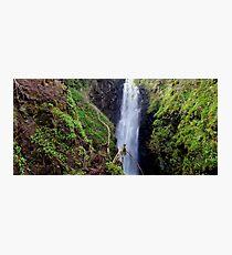 Cranny Falls Photographic Print