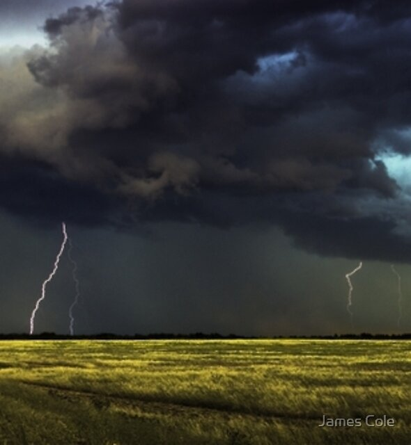Plains of Thunder [Prints, iPhone/iPod cases] by James Cole
