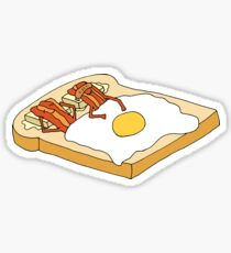 Breakfast in Bed Sticker