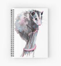 Virginia Opossum Baby Spiral Notebook