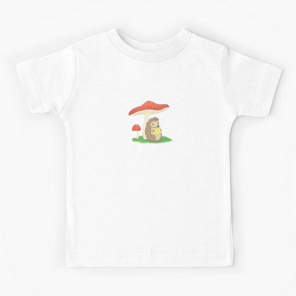 Hedgehog Reading Kids T-Shirt