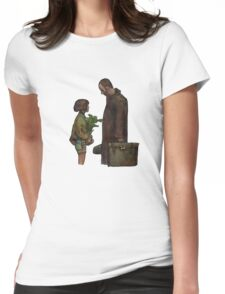 Leon The Professional Womens Fitted T-Shirt