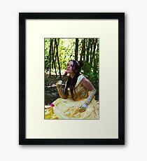 A princess Framed Print