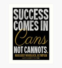 Canned Success T-shirts & Homewares Art Print