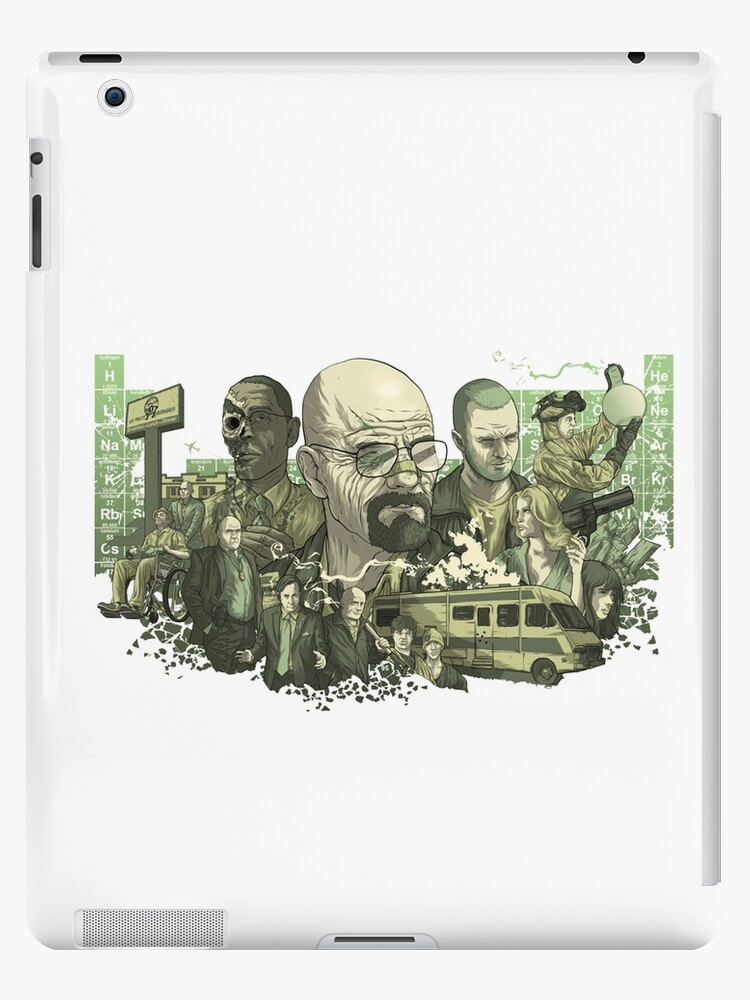 Breaking Bad Stylized Collage by Emma Greenish